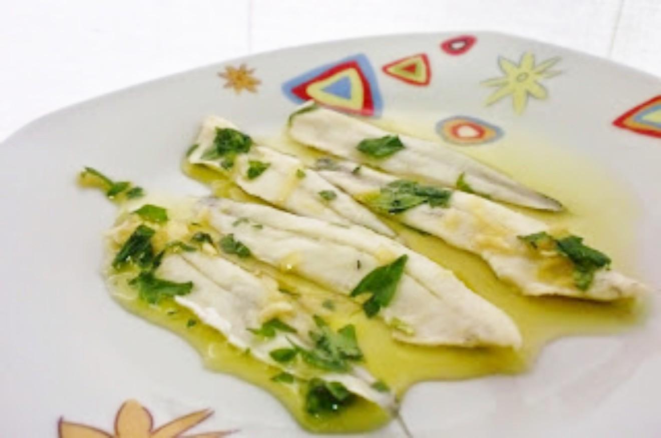 106 receta boquerones en vinagre o agritos mayte en la - Calorias boquerones en vinagre ...