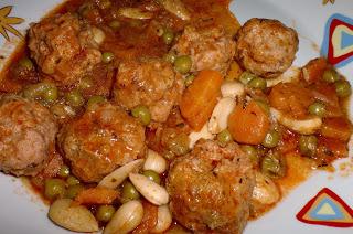 266 receta albondigas de choco y gambas mayte en la cocina - Albondigas tradicionales ...