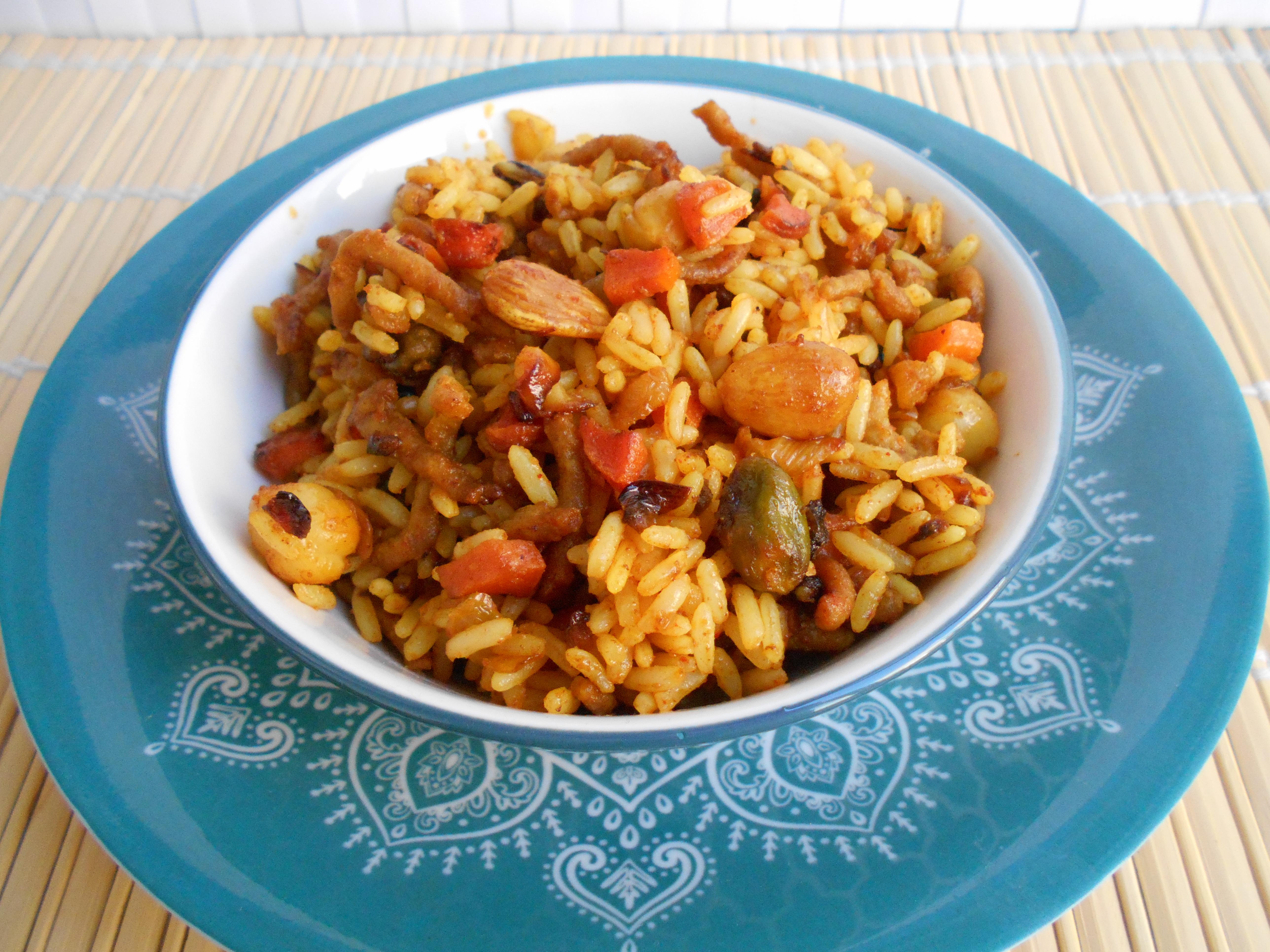 72º Receta Arroz Marroqui Con Carne Y Ras El Hanout Mayte