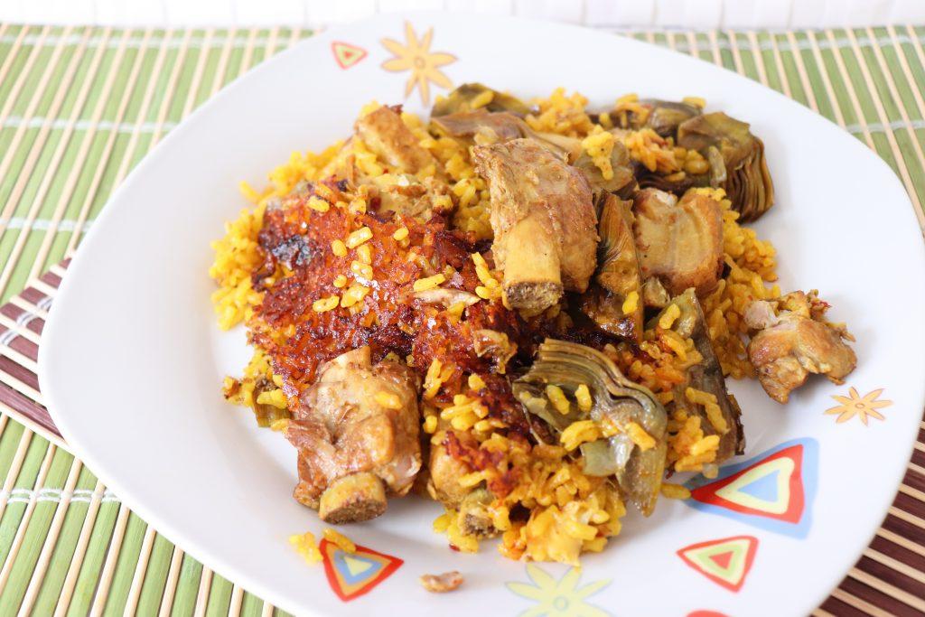 Arroz con pollo, recetas de Mayte En La Cocina, blog de cocina
